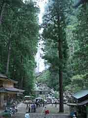 那智の滝/飛瀧神社と注連縄の張り替え