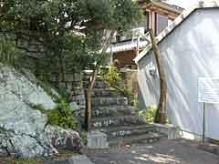 恵比寿神社の鯨骨鳥居