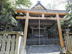 熊野古道(千里王子社)