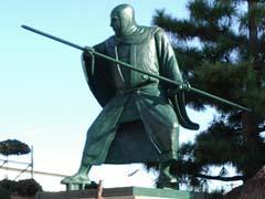 Statue of Musashibo Benkei