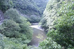 和田川渓谷