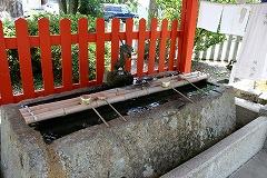 The Hand-washing Stand at Asuka Shrine