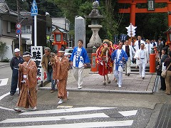 熊野速玉祭「神馬渡御式」